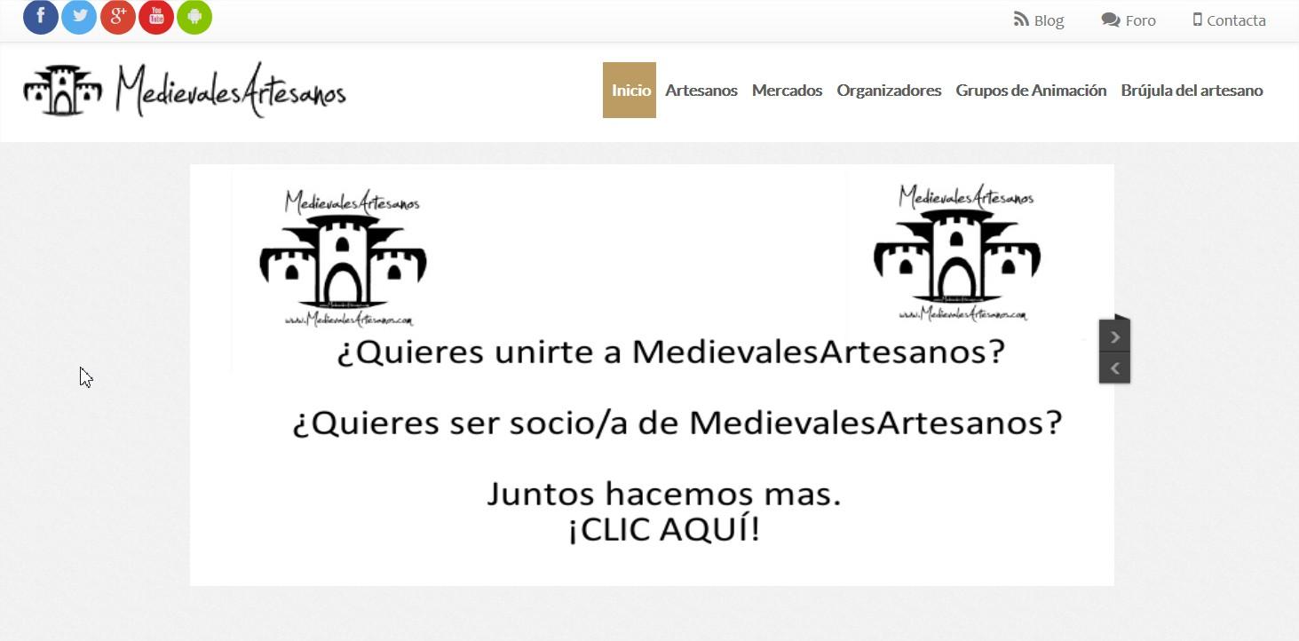 Comprar productos artesanía. Ferias artesanía España - Mozilla Firefox
