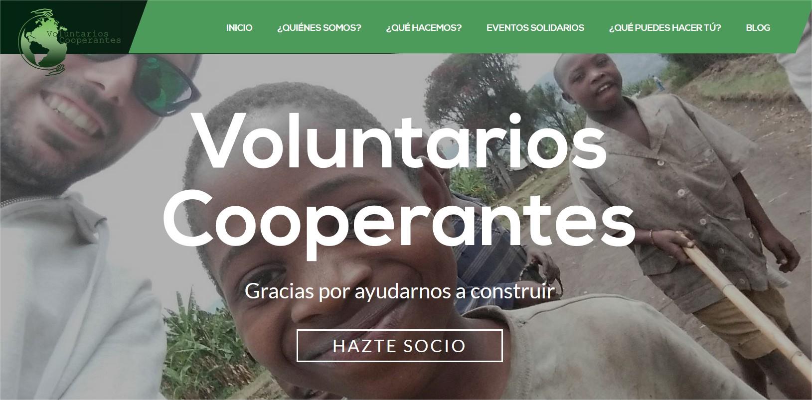 Asociación de Voluntarios Cooperantes ONG - Mozilla Firefox